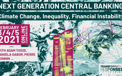 Next Generation Central Banking: Climate Change, Inequality, Financial Instability